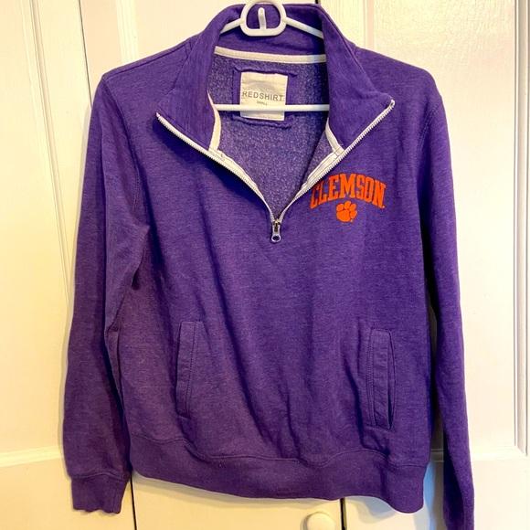 Clemson University Tigers Purple Sweatshirt Small